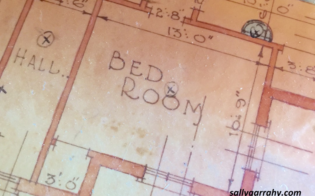 The room they leave home from…